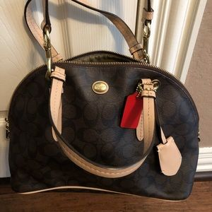 Coach Satchel Black